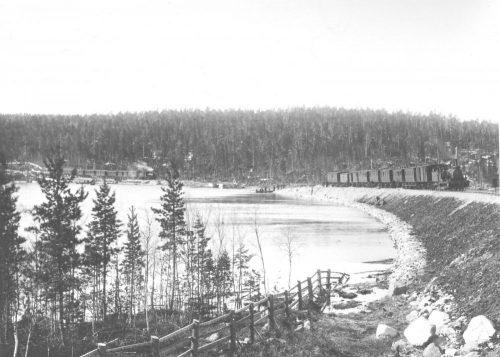 Det stora raset Elfsbyn Storsund 1898