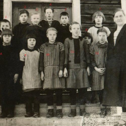 1925-27 skolan Teugerträsk (Teugerliden/Sjöviken)