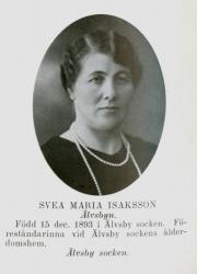 Svea Maria Isaksson Älvsbyn