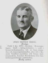 Sven Fritiof Öberg Älvsbyn