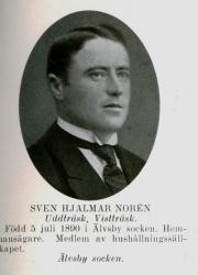 Sven Hjalmar Noren Uddträsk Vistträsk