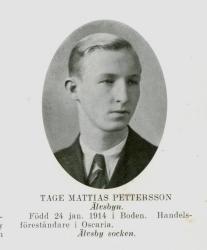 Tage Mattias Pettersson Älvsbyn