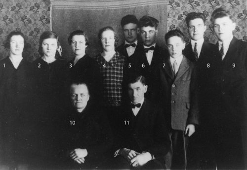 Familjen Albert och Maria Westerlund i Tvärån