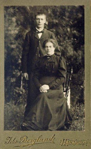 Fredrik Seger och Maria Lundgren