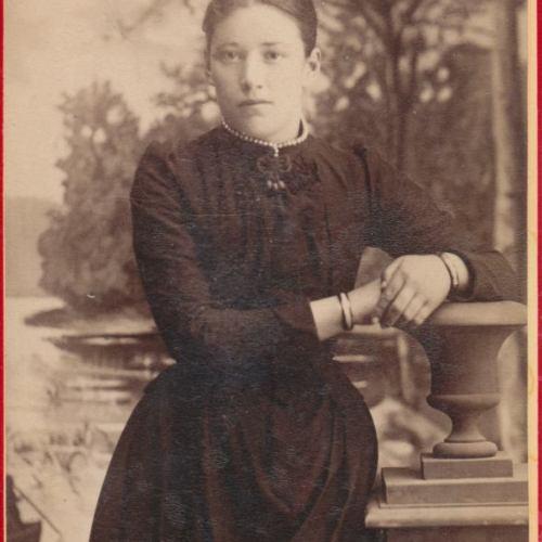 Övre Tväråsel Emma Eriksson g.Lundman.