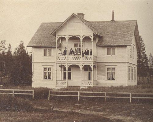 Johan Johansons gård i Tväråselet.