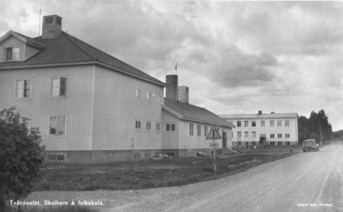 Tväråselets Skolhem o Folkskola