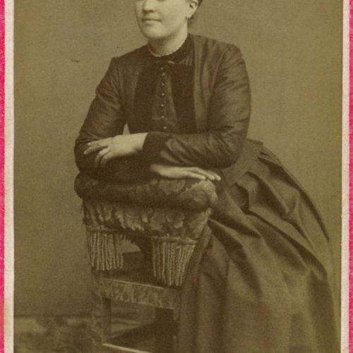Övre Tväråsel Maria Carlsdotter Nilsson f.1866-10-08 i Övre Tväråselet