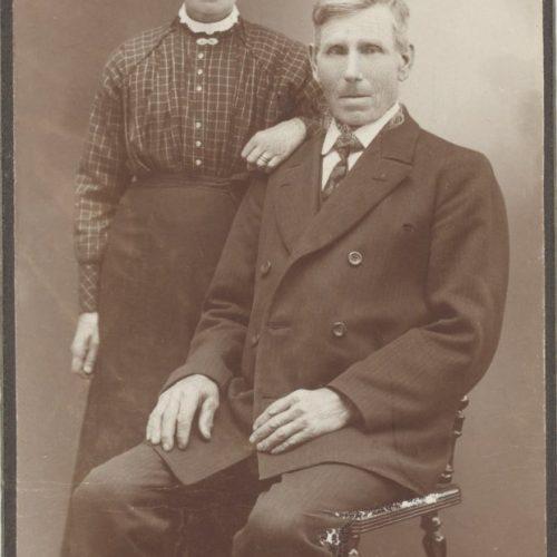 Sara Karlsdotter och Erik Isaksson