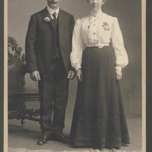 Carl Johansson- Viksten och Maria Lidström
