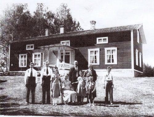 Familjen Johan Gran Småträsk 1