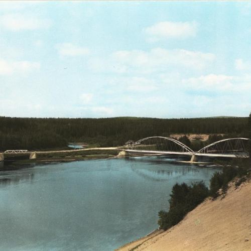 Vidsel bron över Pite älv