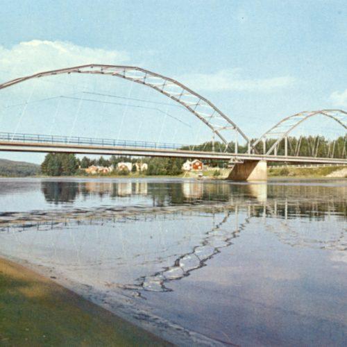 Bron över Piteälven i Vidsel.