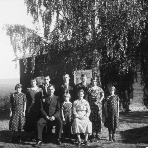 Familjen Edvard o Elodia Sundman