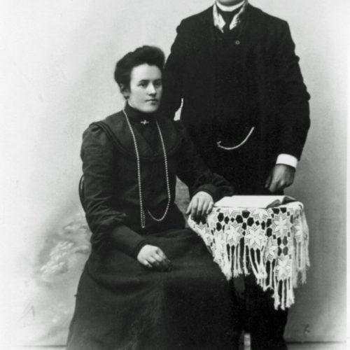 Hilma Falk Danielsson och Arvid Sundqvist
