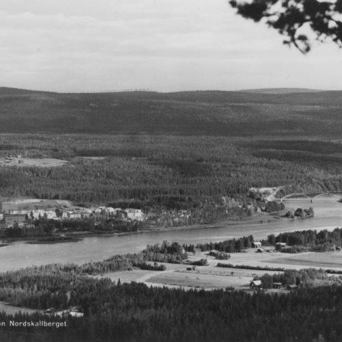 Utsikt från Nordskallberget i Vidsel.