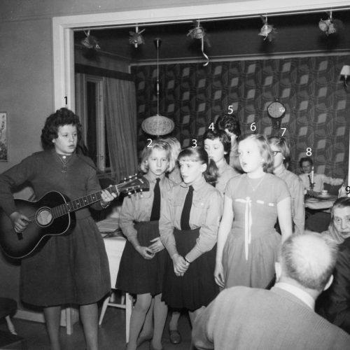 U.R.K. Ungdomens Röda Kors från Vidsel 1959