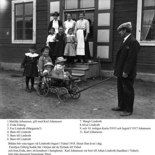 Karl Larsson med familj