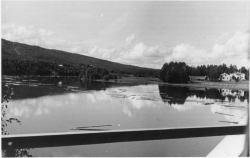 Fotografi taget från Piteälvsbron