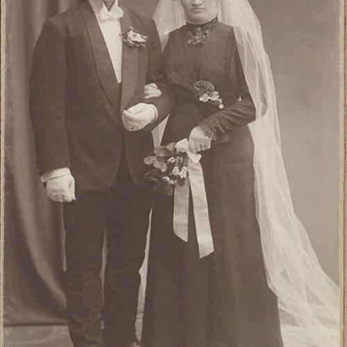 Emil Karlsson och Ester Johansson