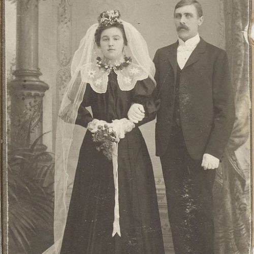Hilda Sandberg och Nils Johan Berglund