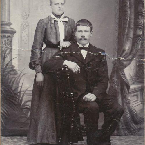 Elma Nordström och Johan Isaksson