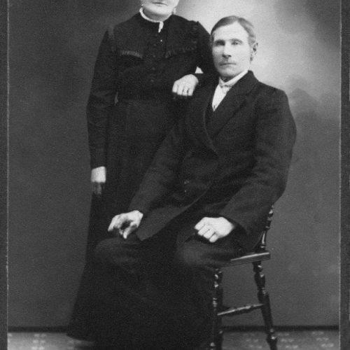 Nils Gustaf Andersson och Johanna Stenberg