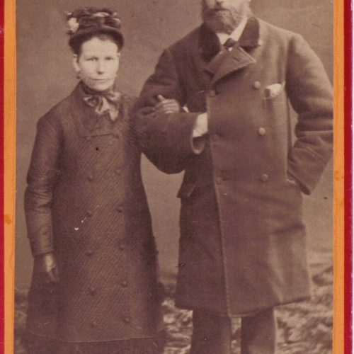 Hilda Nordström och Johan Nilsson