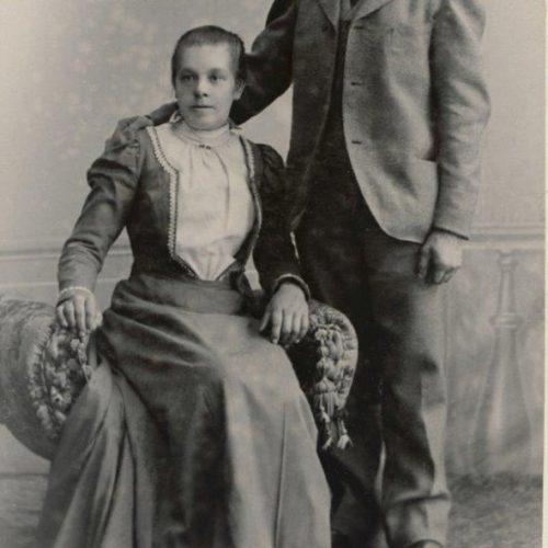 Selma Hällström och August Elfstrand
