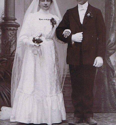 Wilhelmina Johansson och August Nilsson