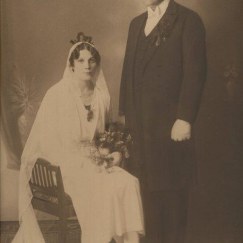Ernst Leonard Sjöberg och Dea Karolina Lindholm