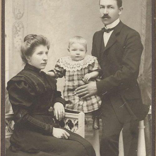 Frans Gustaf Nilsson och Anna Nilsson
