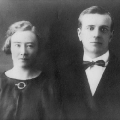 Gerda Nyberg och Johan Eriksson