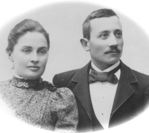 Hilma Sundvall och Karl Johan Berggren