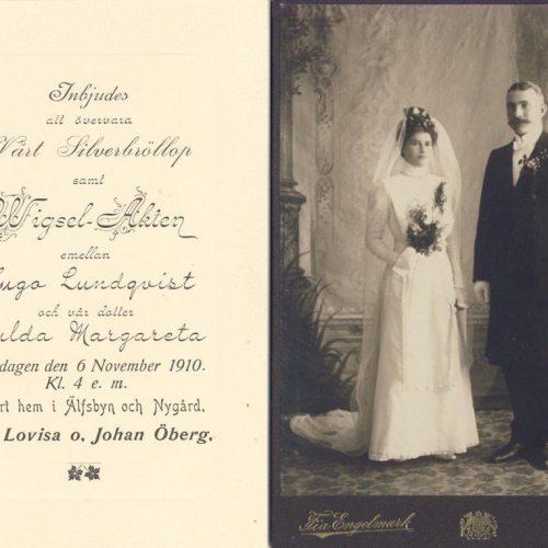 Hulda Margareta och Hugo Lundqvist