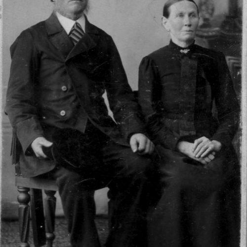 Johannes Persson och Magdalena Erika Anderdotter
