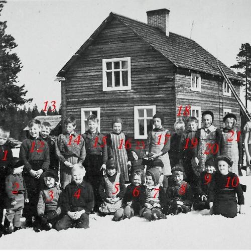 Vistbäckens gamla skola