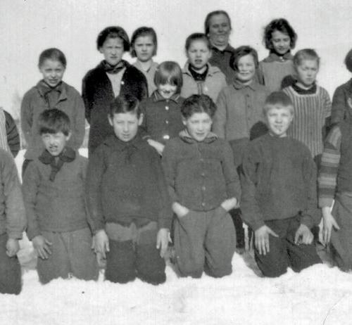 1927 skolelever i Vistbäcken