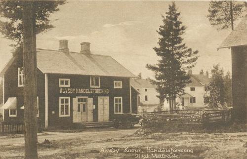 Älvsby Kooperativa Handelsförening Filial Vistträsk 1920-tal