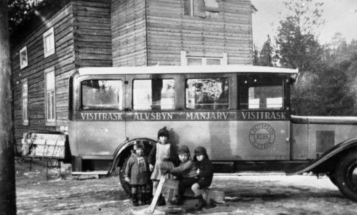 Buss Vistträsk Älvsbyn Manjärv Vistträsk