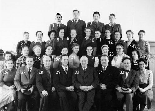 Evangelistvecka, Ebeneser i Vistträsk 1954