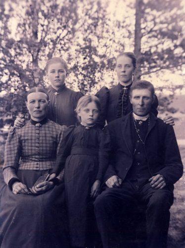 Familjen Johan Granberg