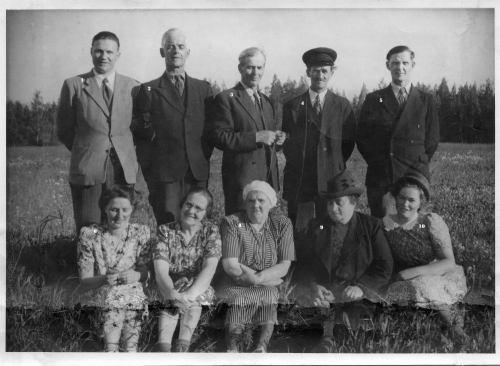 Gruppfoto från Vistträsk