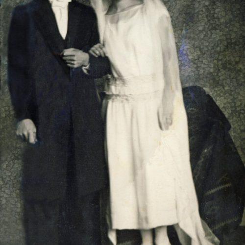 Johan Albert Bergvall och Anna Granberg