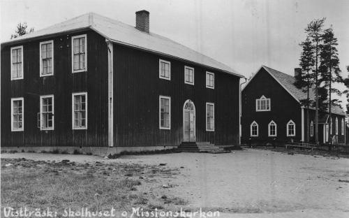 Vistträsk Skolhuset o Missionskyrkan