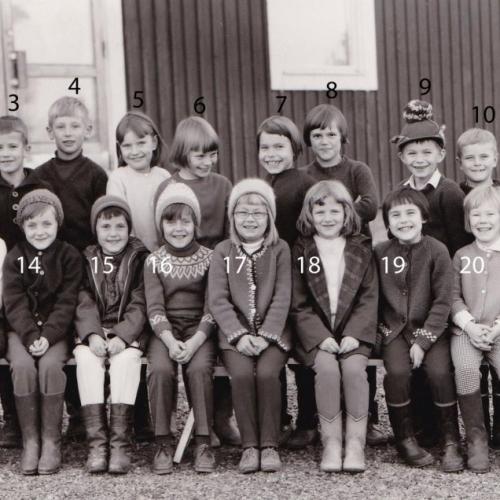 1965 klass 1 och 2 Vistträsk