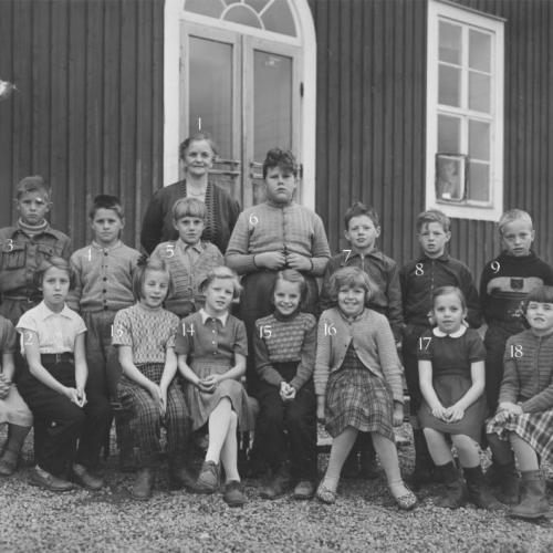 1954 klass 2 Vistträsk