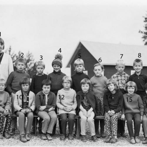 1966 klass 2 Vistträsk.