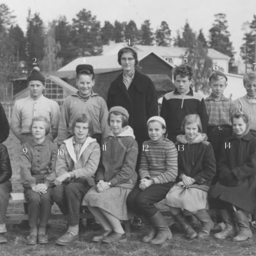 1958 klass 6 Vistträsk