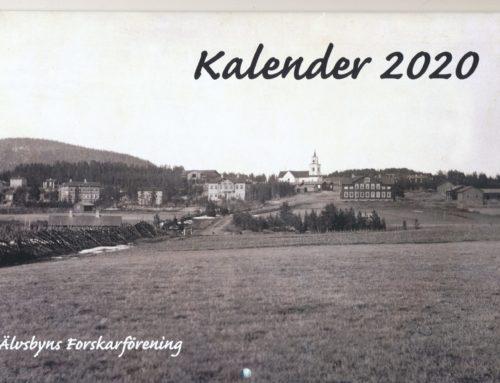 Fotokalendern för 2020